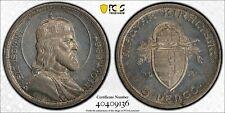 Hungary Saint Stephan silver 5 pengö 1938 uncirculated PCGS UNC cleaned