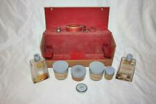 Very Rare Coty Gift Box Cyphre Perfume with Compact, Brush, Creams & More!