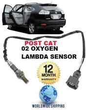 FOR LEXUS RX300 RX350 RX400H HYBRID 03-09 POST CAT REAR OXYGEN 02 LAMBDA SENSOR