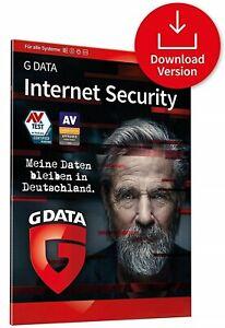G DATA Internet Security 2021 3 PC / Geräte 1 Jahr - GData DE Lizenz NEU 2020