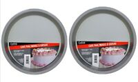 """2 X Round Non Stick Cake Pan 8"""" Inch Cooking Concepts Even Cooking"""