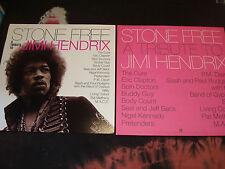 """Stone Free Jimi Hendrix Tribute 12""""X12"""" Poster mint"""