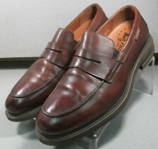 ORELIEN BROWN MMPF60 Mens Shoe Size 10 EUR 9.5 Leather Slip On Loafers Mephisto