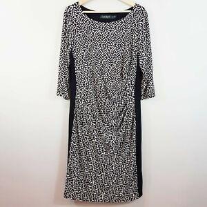 [ RALPH LAUREN ] Womens Print Dress NEW | Size AU 18 or US 14