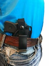 Concealed IWB Gun Holster with Magazine Pouch for S&W BODYGUARD 380 With Laser