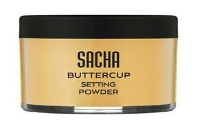 Sacha Buttercup Setting Powder - Finely Milled and Flash-Friendly Full Size