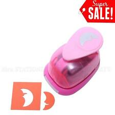 "1""inch Moon Shape Paper Craft Punch Craft Supplies Puncher For Scrapbooking New"