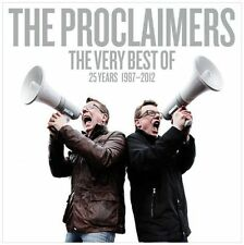 The Proclaimers 25 Very Best of 30 Track 2 Disc 2013 MINT Original CD Album