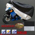 XL Motorcycle Motorbike Scooter Cover Waterproof UV Dust Protector Anti Rain