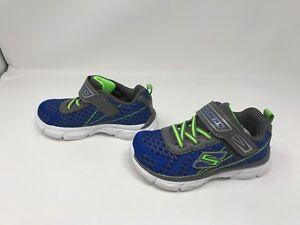 Boys Toddlers Skechers (97651N) Advance Hyper Tread Shoes 411L