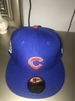 Chicago Cubs 2016 World Series cap New Era 59fifty 7-1/8