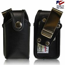 Samsung U365 Gusto 2 Pouch Holster Snap Closure with Metal Rotating Belt Clip