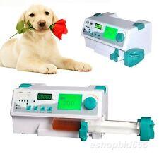Veterinary vet Injection Infusion Syringe Pump W Alarm KVO+Drug library+Bolus Q
