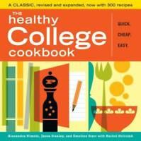 The Healthy College Cookbook - Paperback By Nimetz, Alexandra - GOOD