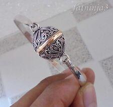 Gold 18K & Silver, 925 Bali Handcrafted Bracelet Traditional Design 37361