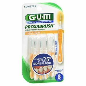 Gum Proxabrush Go-Betweens Cleaners Ultra Tight 10 Each