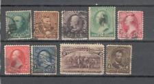 S7113 - USA 1895 - LOTTO COMMEMORAZIONE PRESIDENTI - VEDI FOTO