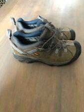 Keen Men's Brown Leather Targhee II Hiking Waterproof Shoes Size 9