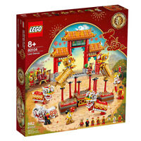 LEGO 2020 Chinese New Year 80104 Lion Dance 882 Pieces Asia Limited