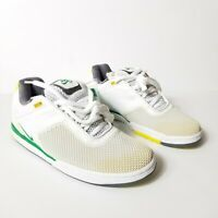 Nike SB Zoom Tre Leaf Men Sneakers Skateboard Shoes Lace Up White Green 8