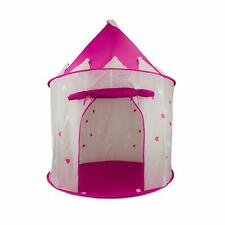 FoxPrint Princess Castle Play Tent with Glow in The Dark Stars - Pink