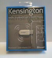 Kensington Bluetooth 2 USB Micro Adapter New