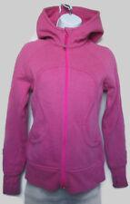 Lululemon Scuba Hoodie *Sparkle Paris Pink Sz 4 EUC