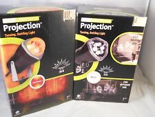 Gemmy Led Laser Light Show Projection red yellow & white (2pk bundle) new items