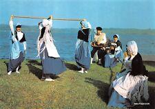Carte postale groupe folklorique landais