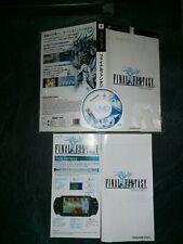Jeux Vidéo Final Fantasy Psp Version Japonaise compatible console européenne
