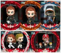 Hot Toys COSB750 751 754 Black Widow COSBABY Bobble-head Action Figure Doll