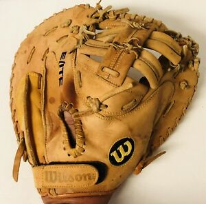 Wilson Elite Series A1680 Catchers Baseball Glove Right Hand Throw Needs Repairs