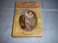 The Complete Works of William Shakespeare By Cambridge University Press Book