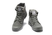 Men's Original Brand PALLADIUM Grey High-top Design Eur Size 39-45 US 6.5-11.5