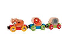 Hape E3807 Jungle voyage train en bois Animal Set Bébé Enfants Âge 18m+