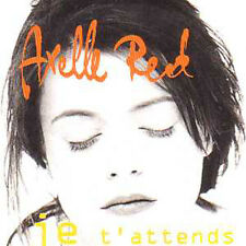 Axelle RED CD single Je t'attends (2 Tracks cardsleeve)