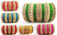 Indian Bangles Set Fashion Jewelry Traditional Bollywood Bridal Wedding Bracelet