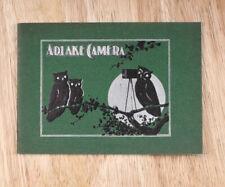 Adams & Westlake 1899 Adlake Sales Brochure/cks/203275