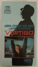Vertigo Rare & Oop Alfred Hitchcock Drama Thriller Original Mca Home Video Vhs