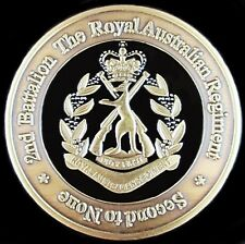 2 RAR ROYAL AUSTRALIAN REGIMENT INFANTRY UNIT COIN * AFGHANISTAN * IRAQ *