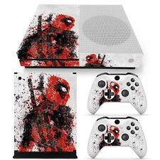 Xbox One S Console, Controller and Kinect Skin Set - Deadpool Fade