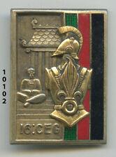 Insigne ,16  Cie. d'Entretien du Génie Légion     ( ARGENT )