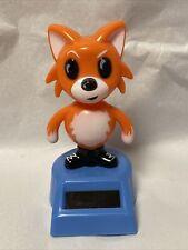 Solar Powered Dancing Bobble head Toy - Solar Buddies  - Fox