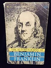 The Autobiography of Benjamin Franklin Old 1955 Pocket Paperback Edition FREE SH