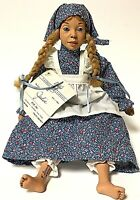 Vintage Signed Daddy's Long Legs JULIE African American Girl Doll