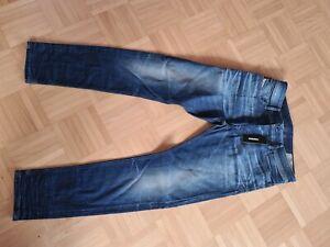 Herren Diesel Jeans In W.33 L.30 Slim Skinny Blau