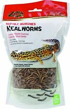 Zilla Reptile Munchies Mealworms 3.75 Oz.