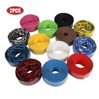1 Pair EVA MTB Road Bike Cycle Handle Handlebar Grip Bar Tape Wrap+2 Bar Plugs