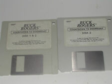 """Vintage Big Box PC - SSI Buck Rogers: Countdown to Doomsday 3.5""""only  DOS IBM PC"""