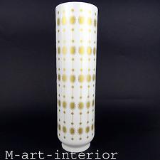 modernist Vase mit Gold Dekor 60er design porcelain by Hutschenreuther vintage